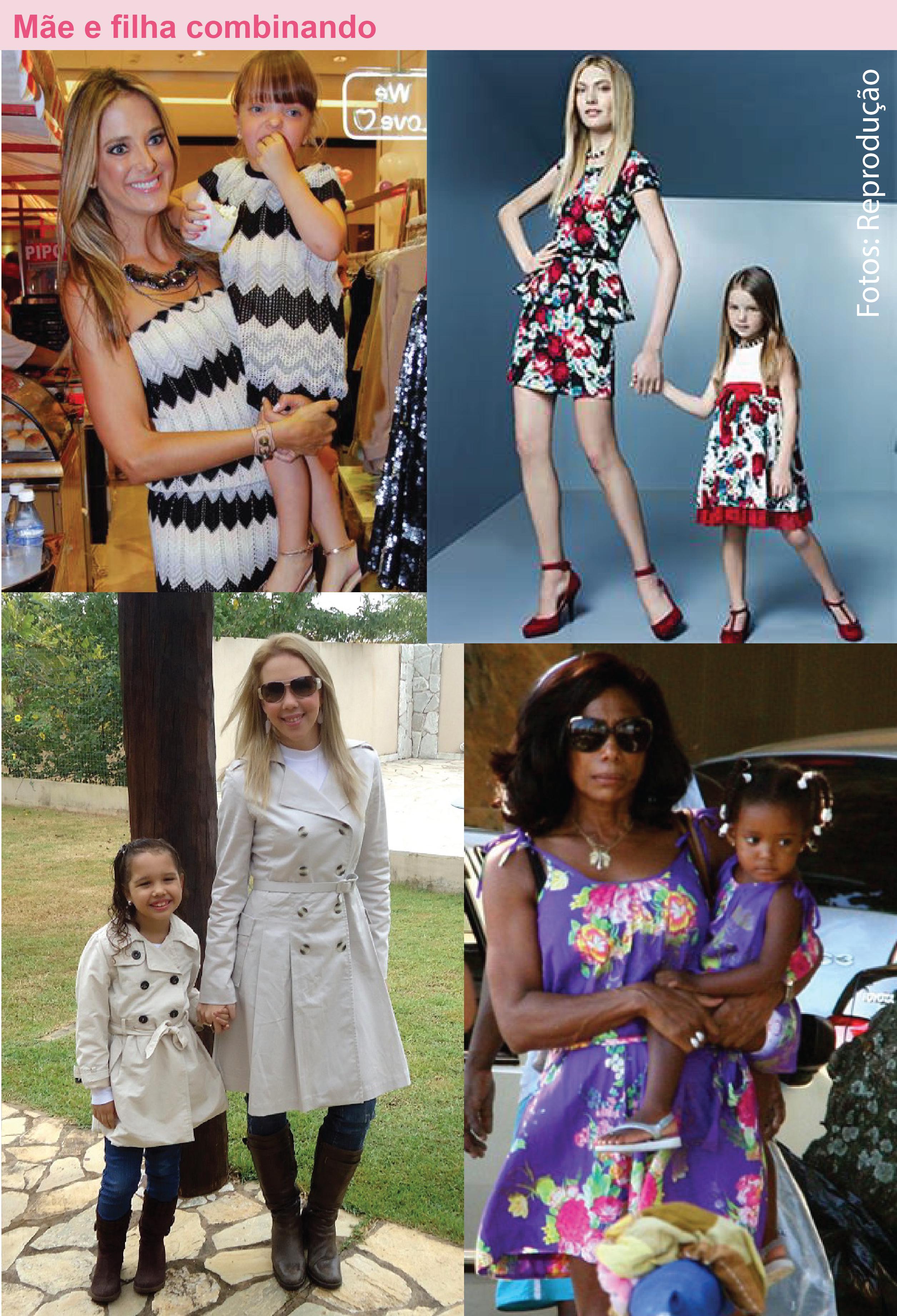 Vestido de festa mae e filha iguais