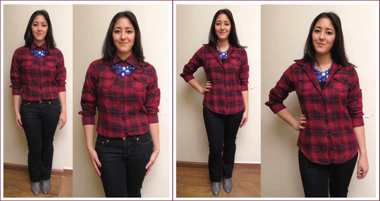 1e4913825 Look – 1 camisa 6 formas de usar   Blog de moda do Brechó Capricho ...