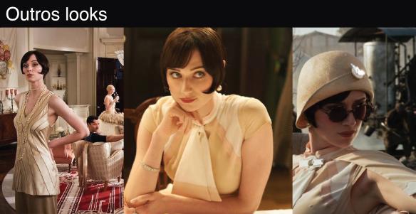 3-figurino-the-great-gatsby-look-personagem-jordan-baker-atriz-Elizabeth-Debick-vestido-preto-chapeu-oculos-redondo-prata-acessorios-decote-v-costas-pulseiras-anos-20-bolsa-anel