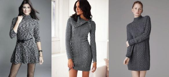 1-inverno-vestido-manga-longa-trico-tricot-estampado-look-como-usar-etampa-poa-bolinha-pied-le-poule-coq-preto-e-branco-brecho