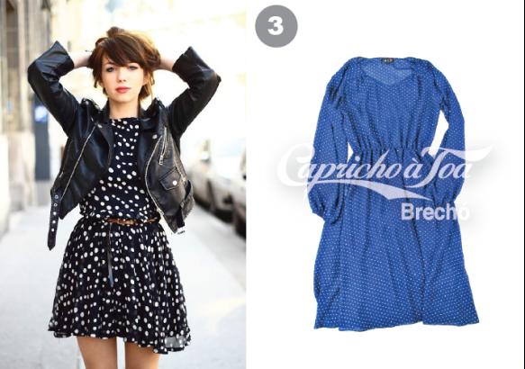 3-como-usar-jaqueta-de-couro-natural-vestido-estampado-bolinhas-poa-saia-lapis-preta-calca-estampada-onca-veromoda