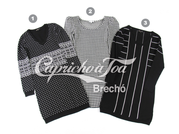 3-inverno-vestido-manga-longa-trico-tricot-estampado-look-como-usar-etampa-poa-bolinha-pied-le-poule-coq-preto-e-branco-brecho