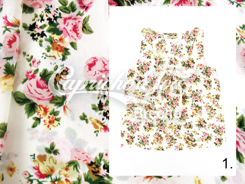Especial Floral Tipos de padronagem  Blog de moda do Brechó