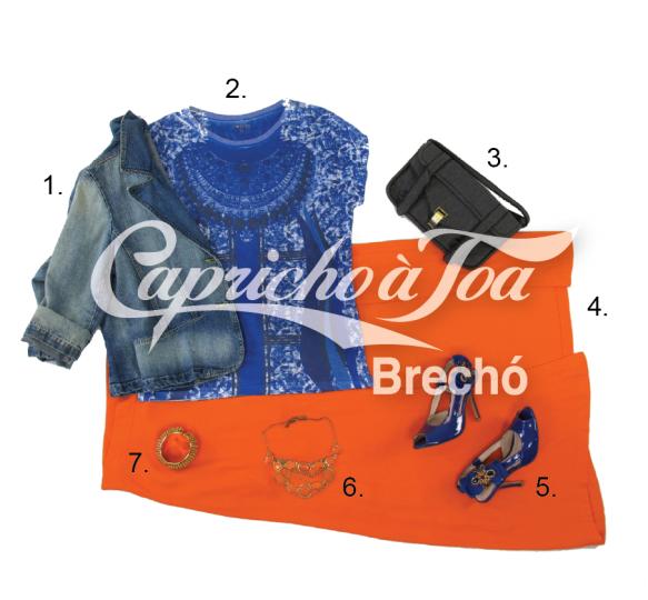 3-look-estampa-deazulego-camiseta-fhits-saia-longa-fenda-laranja-colar-blazer-jaqueta-jeans-pop-up-store-tendencia-brecho