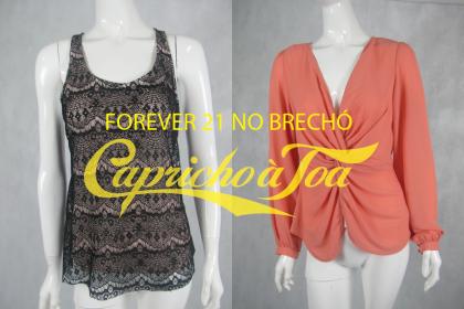 Forever 21 no brechó: R$29 / R$29