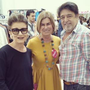 Costanza Pascolato, Denise Pini e Franz Ambrosio