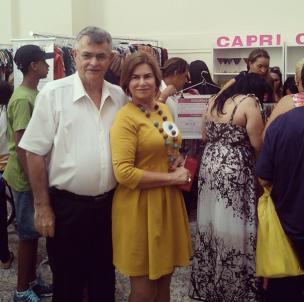 Flávio Bordot e Denise Pini
