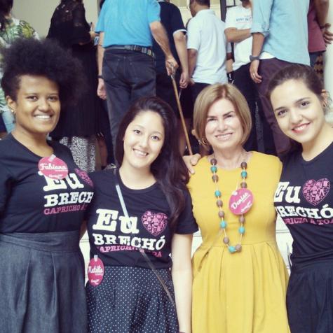 Fabiana Generoso, Natália Adachi, Denise Pini e Lívia Souza