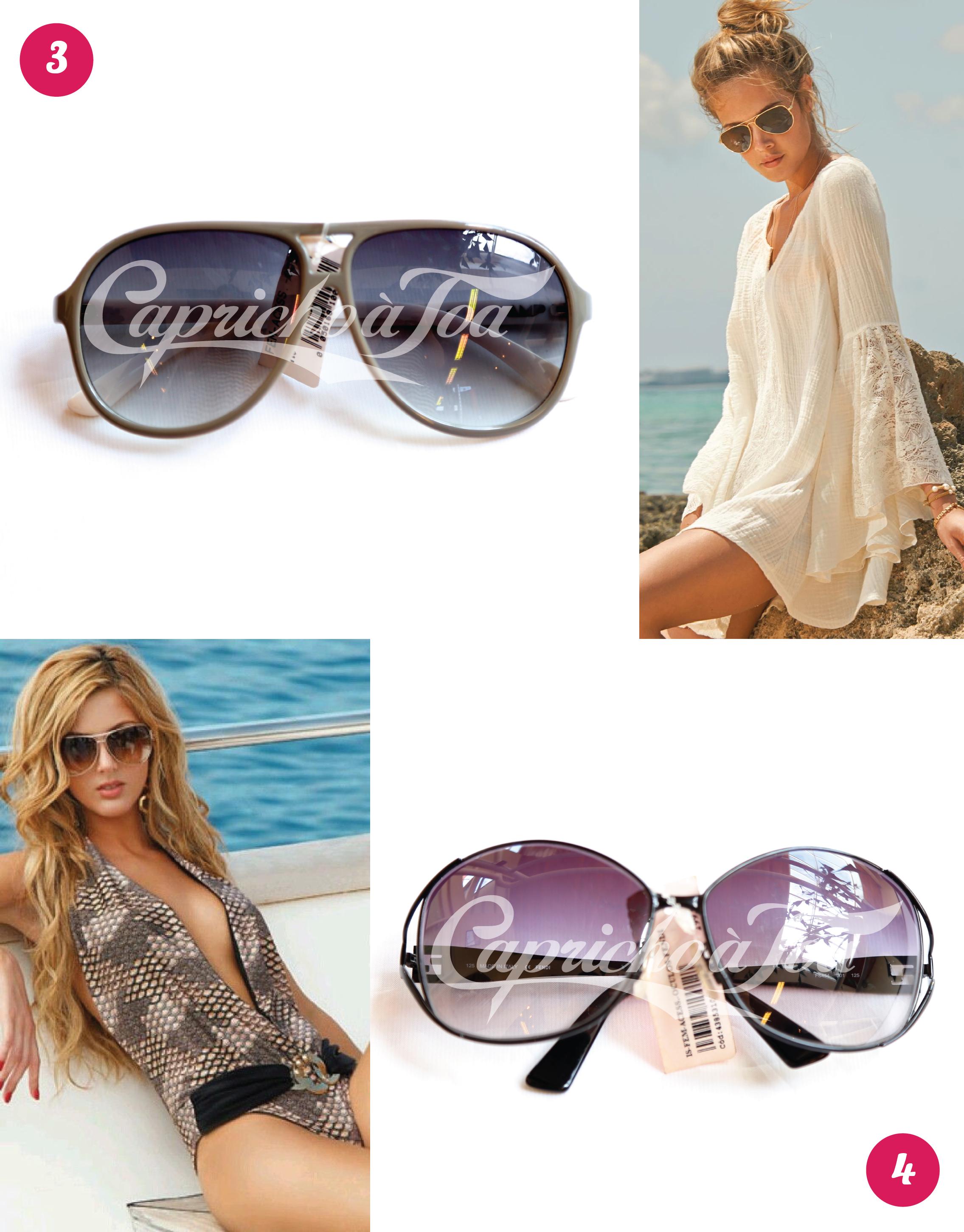 Óculos de Sol  Aviador   Blog de moda do Brechó Capricho à Toa d31946c086