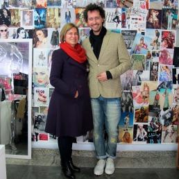 Looks de Denise Pini e Arlindo Grund