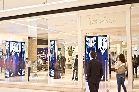 Data da foto: 07/2012 Fachada da loja Daslu, no Shopping JK Iguatemi.