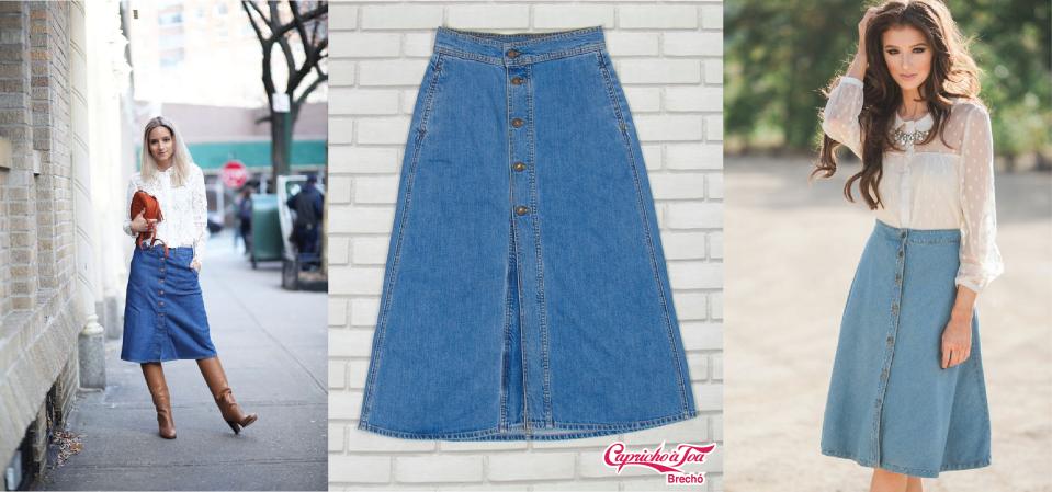 1-saia-midi-jeans-denim-look-inverno-outono-casaco-trico-sweater-cacharel-gola-role-brecho