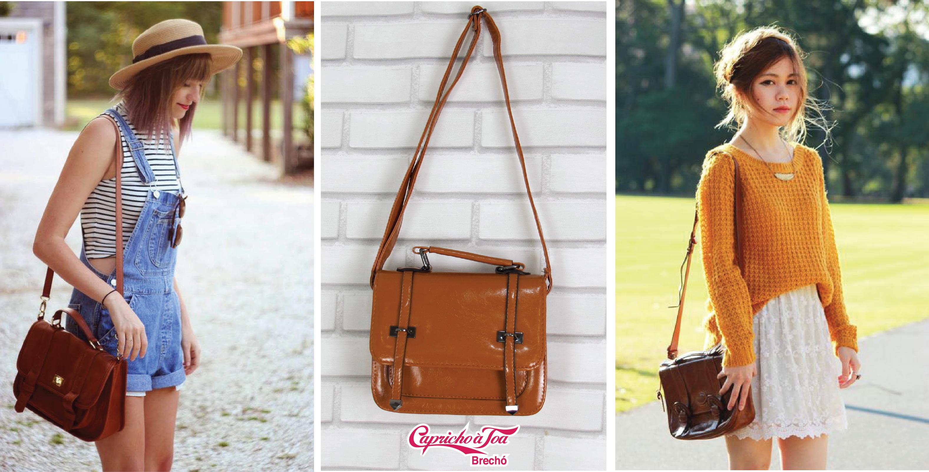 """Must-have  bolsa """"carteiro"""" para um look retrô   Blog de moda do ... dda3e02238"""