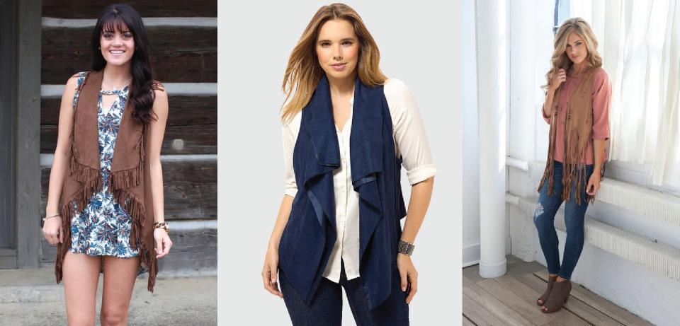 3-colete-de-couro-camurça-suede-vest-look-dias-como-usar-azul-marrom-onde-comprar-brecho