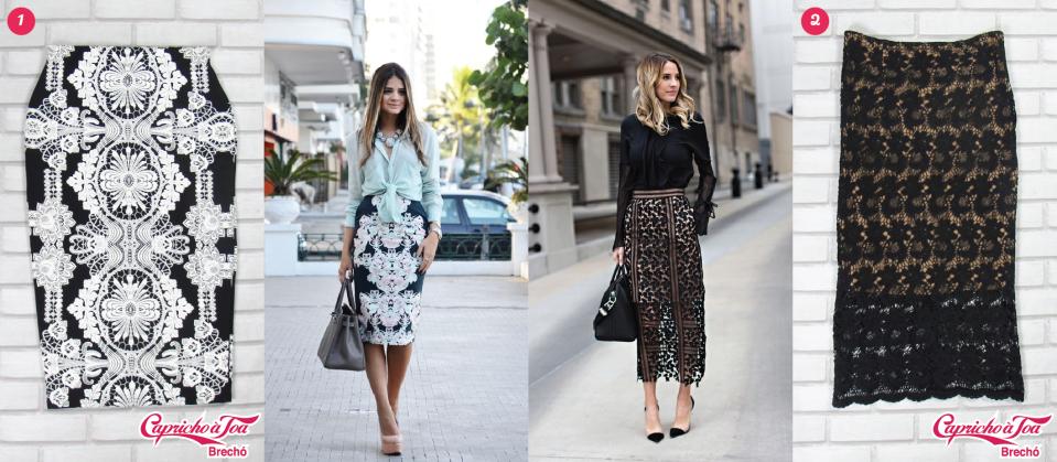 3-saia-midi-lapis-renda-preta-arabescos-look-blogueira-top-dicas-como-usar-preco-brecho