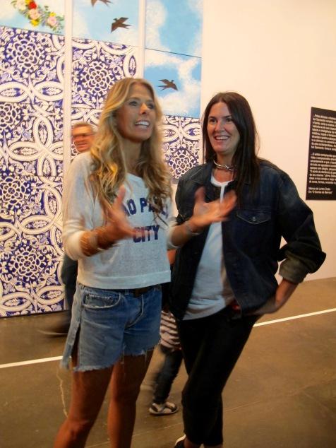 Adriane Galisteu (Apresentadora) e Susana Barbosa (Revista Elle)