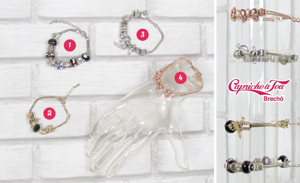 3-pulseira-bracelete-pandora-charm-customiza-rommanel-life-vivara-prata-dourado-rose-rosa-brecho
