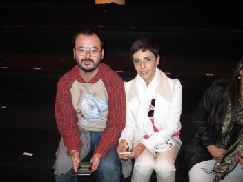 Lilian Pacce @lilianpacce e Jorge Wakabara @wakabara