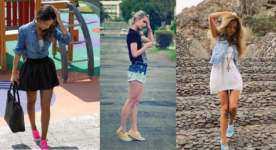 2-tenis-sneaker-esportivo-colorido-neon-cor-forte-como-usar-inverno-verao-dica-look-marca-vans-brecho