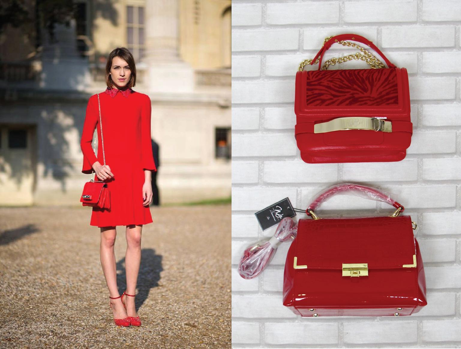 Bolsa Do Olho Vermelha : Bolsa vermelha pequena dica look como usar basico preto