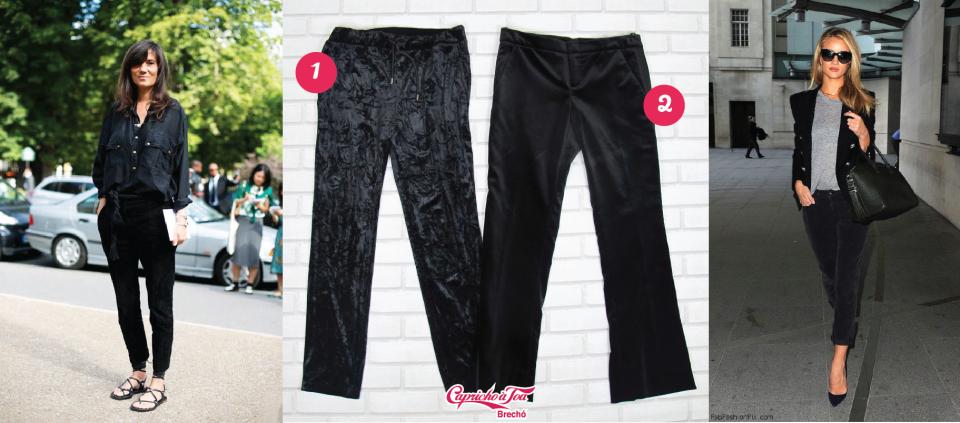 1-calca-veludo-velvet-pants-gold-dourado-preta-azul-jeans-look-dica-como-usar-brecho