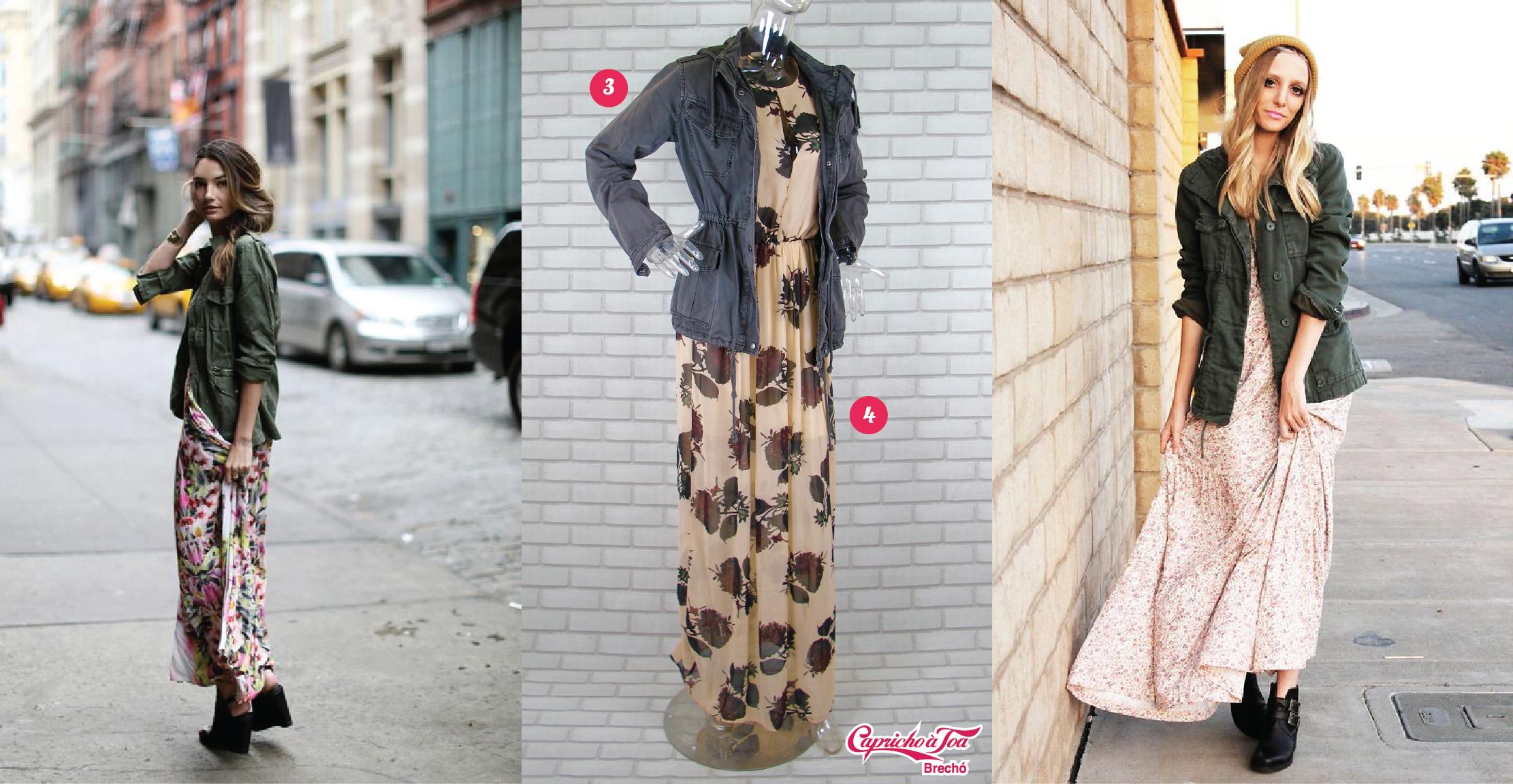 Como usar vestido longo com bota no inverno