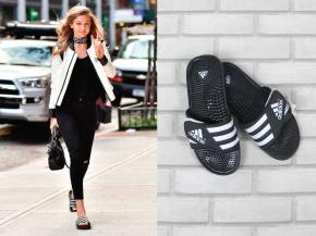 0-gigi-hadid-vanessa-hudgens-slide-chileno-slider-adidas-preto-e-branco-look-dica-como-usar-prec%cc%a7o-brecho