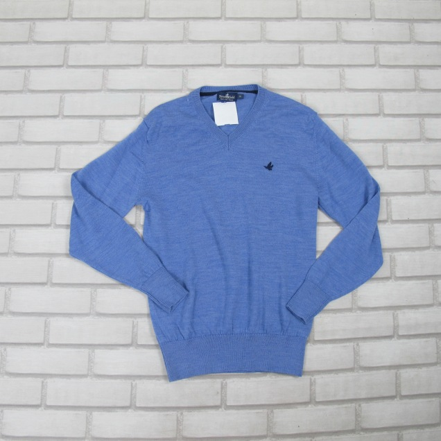 Blusa M.L Azul BROOKSFIELD (10anos) R$39