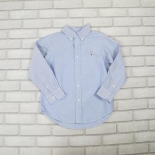 Camisa Azul Clara RALPH LAUREN (6anos) R$39