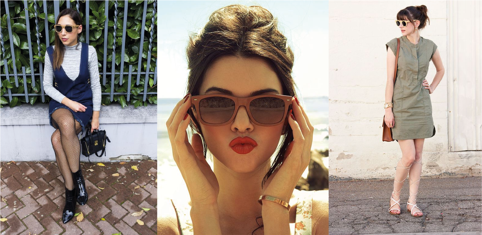 Tendência  Óculos de Madeira   Blog de moda do Brechó Capricho à Toa 1e21b369be