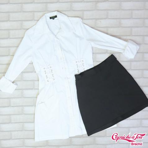Vestido AMAIS (38) R$59 | Saia PRIMART (M) R$29