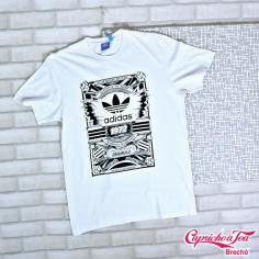 Camiseta #ADIDAS (M) R$20