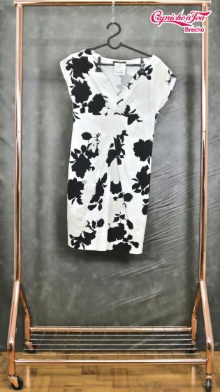 Vestido Floral P&B #PACONCEPT (40) R$69