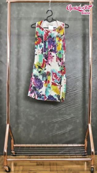 Vestido Floral Aquarela #FILLITY (38) R$69