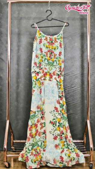 Vestido Longo Floral Vivo #MOB (P) R$59