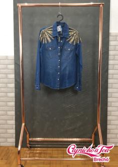 Camisa Jeans #VILLON (M) R$99