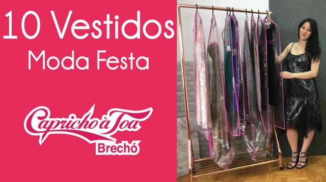 890cb264fc8 Novo Vídeo  Especial moda festa (10 vestidos)
